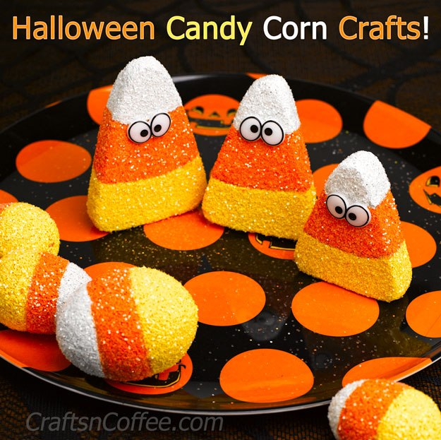 Candy corn craft