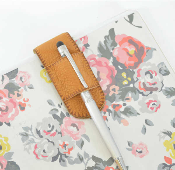 diy pen holder for binder notebooks