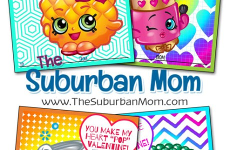 Free Printable Valentine's Day Shopkins Cards