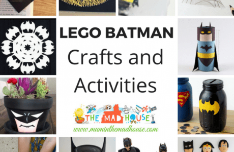 Batman Crafts Roundup