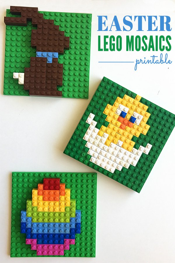 Easter Lego Templates For Kids