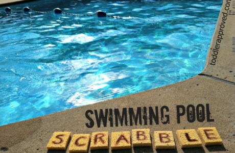 Summer Time Swimming Pool Scrabble