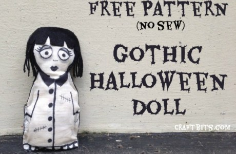 Make your own Gothic Halloween Doll