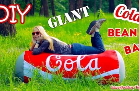 Make Your Own CocaCola Bean Bag