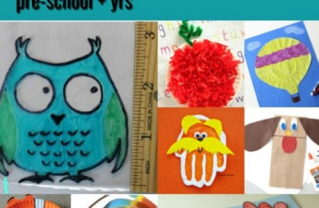 10 Pre-school Kids Crafts