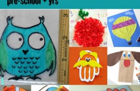 10 Pre-school Kids Crafts