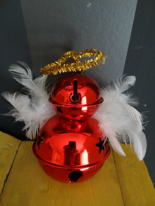 DIY Quick Christmas Bell Angel