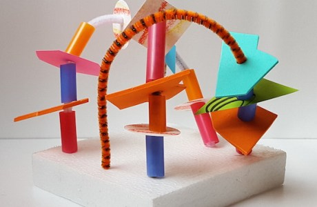 Kids Crafts – Funky Sculptures
