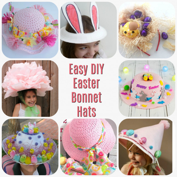 Easy DIY Easter Bonnet Hats