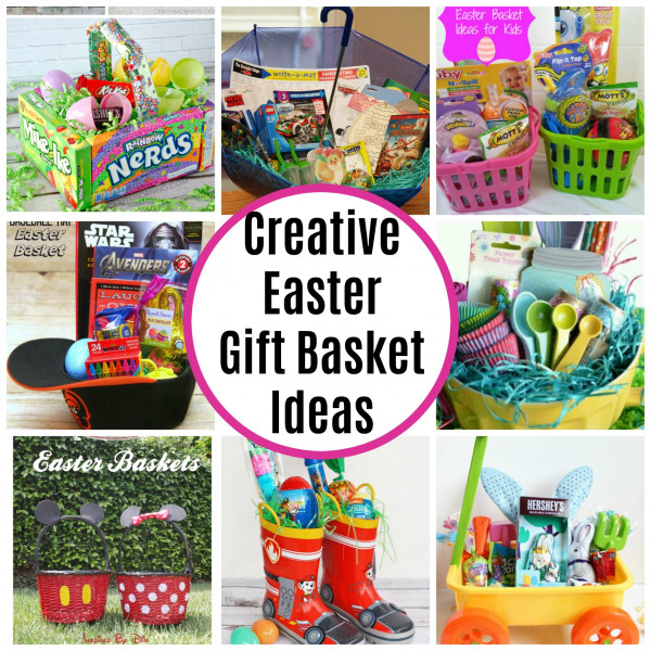 Alternative easter gift basket ideas negle Images