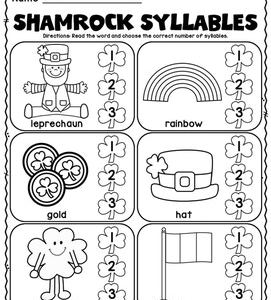 Free St Patrick's Day Activity Sheets