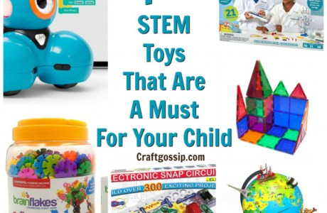 10 STEM Toys that are a MUST for your Child