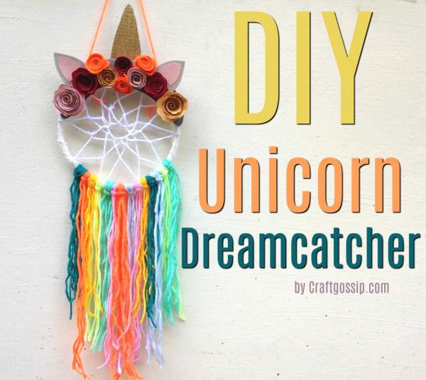 DIY Unicorn Dreamcatcher