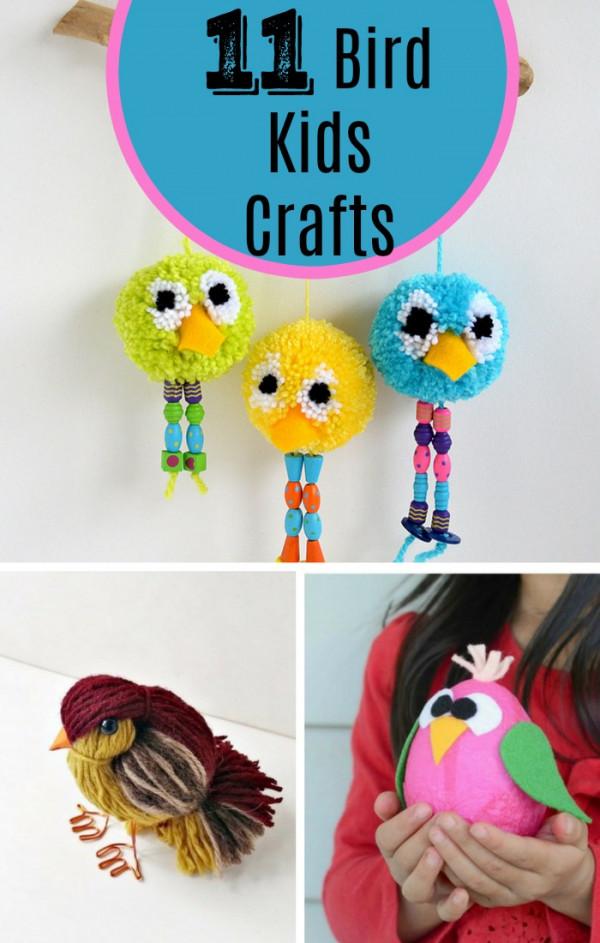 11 Bird Themed Kids Craft Projects