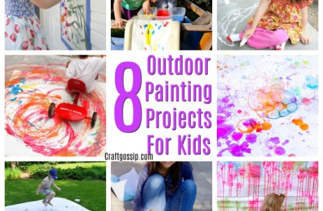 Outdoor Paint Projects For Kids