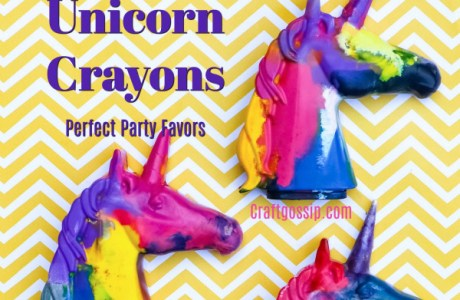 DIY Unicorn Crayons