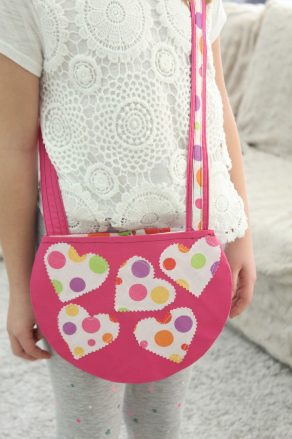 DIY Little Girl Purse Sewing Pattern