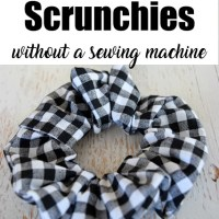 How To Make A Scrunchie Without A Sewing Machine