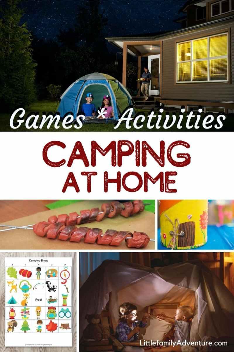 Diy Backyard Camping Activities For Kids