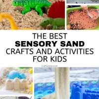 20 Sand Crafts For Kids
