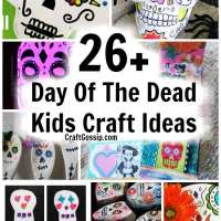 26 + Day Of The Dead Kids Crafts