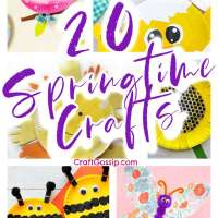 20 Springtime Paper Plate Crafts For Kids