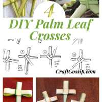 How To Make Palm Crosses For Easter Sunday
