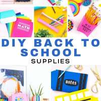 Back To School Supplies You Can Make At Home
