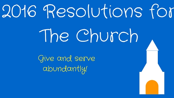 church resolutions