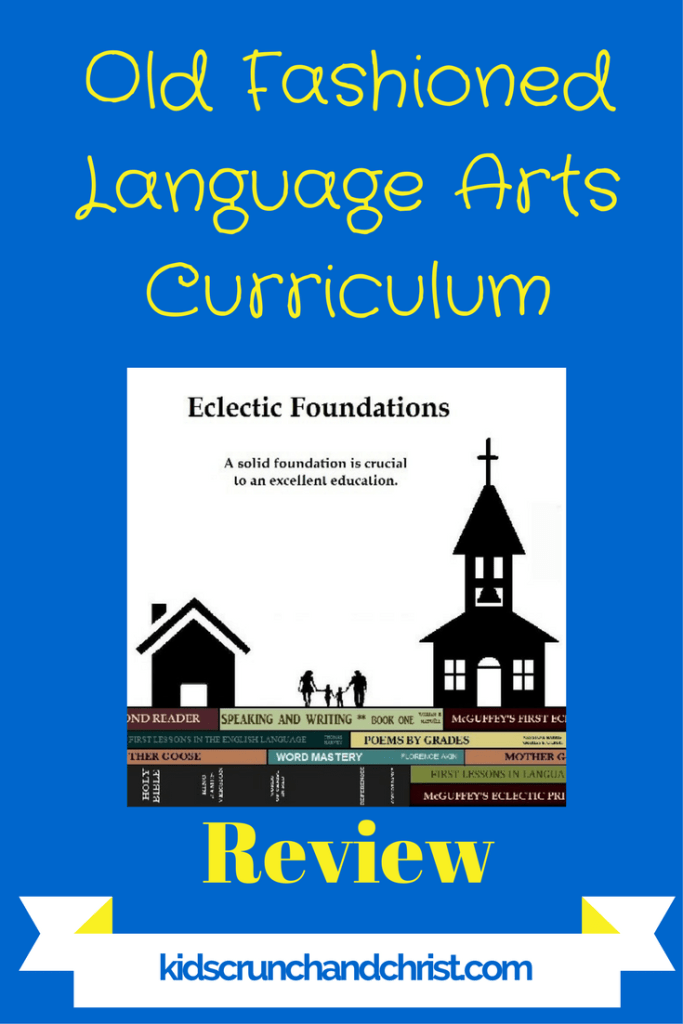 My experience with Eclectic Foundations Language Arts Level B old-fashioned Christian homeschool language arts curriculum with McGuffy Reader lesson plans.