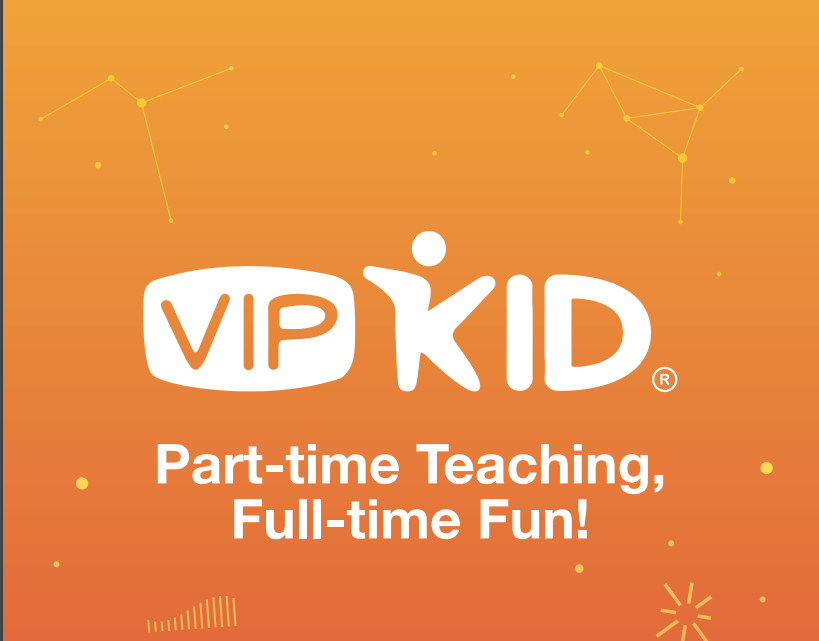 Work at home with VIPKID, teach English online to kids in China!