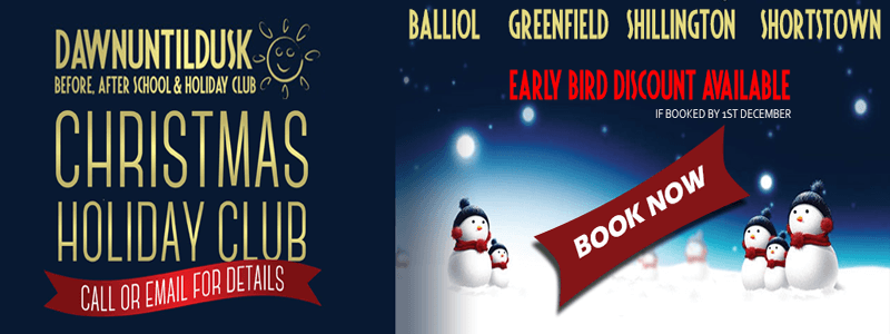 Christmas Holiday Club Banner