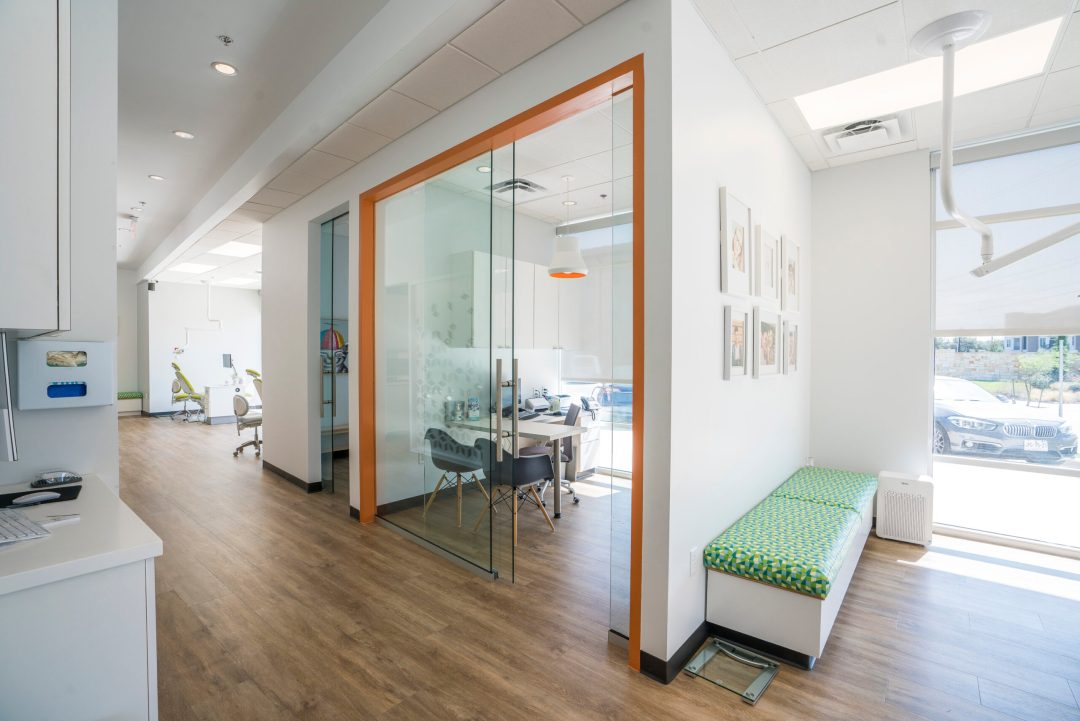 Consultation Area at San Antonio Pediatric Dentistry and Orthodontics