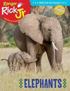 Ranger Rick Jr November 2017 Cover