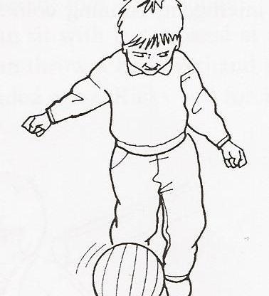 Κλωτσάει μπάλα