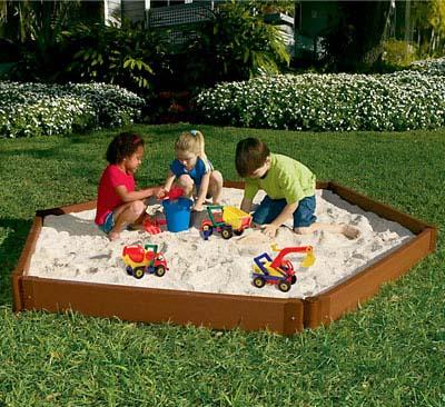 Παιδική λακκούβα με άμμο