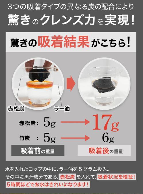 黒汁の成分について