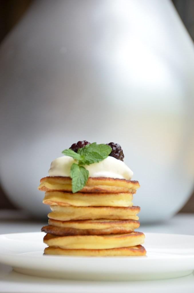 ricotta, pancakes, breakfast