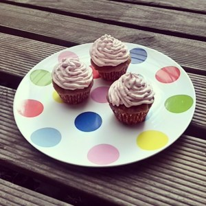 sugar free, icing, cupcakes, strawberry, party