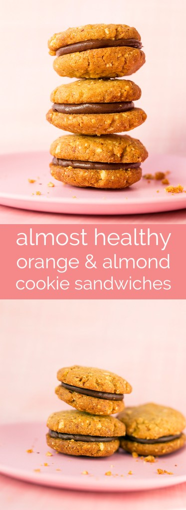 almost healthy orange and macadamia cookies with a gooey chocolate centre.... yum!