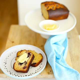 banana + blueberry bread