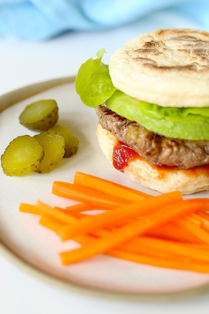 Hidden Veggies Flatbread Burgers A fast-food dinner thats healthy! | Kids Eat by Shanai