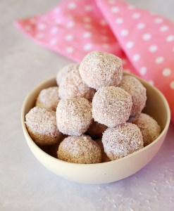 Strawberry Lunchbox Balls | Kids Eat by Shanai