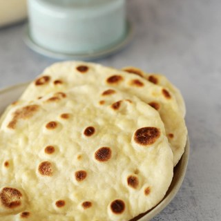 Easy Yoghurt Flatbread + Gluten Free Version