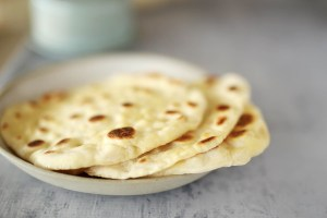 Easy Yoghurt Flatbread | Kids Eat by Shanai. Made with just 2 ingredients and ready in minutes!