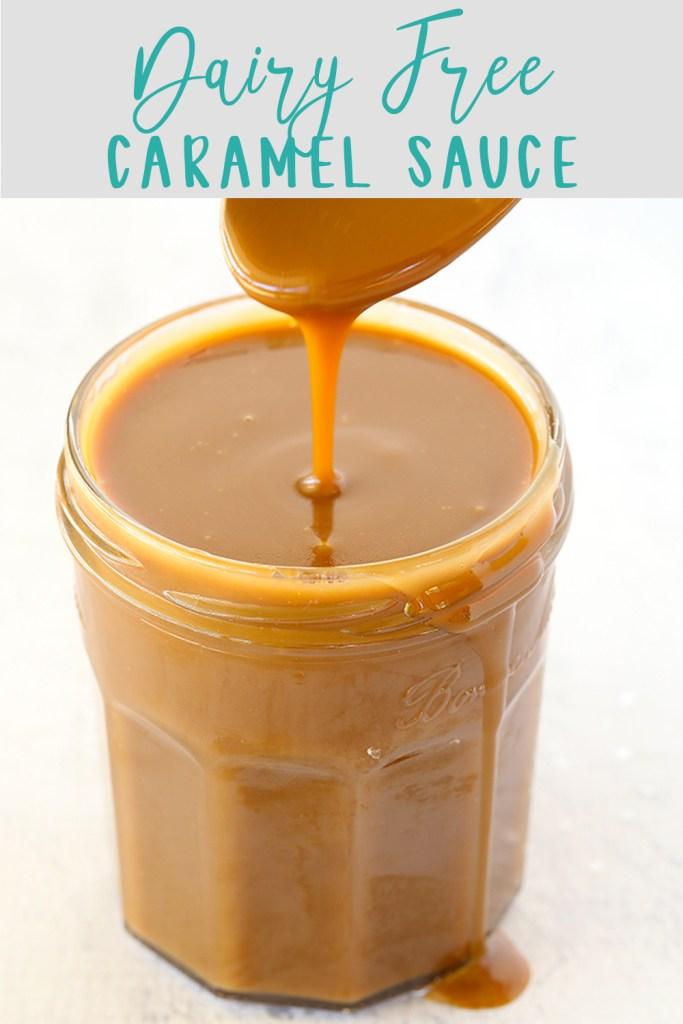 Dairy Free Caramel Sauce | Kids Eat by Shanai