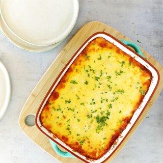 Leftover Xmas Ham Cordon Bleu Lasagne