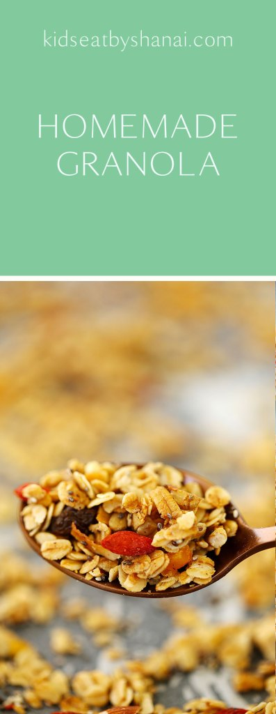 Homemade Granola Easy and healthy Homemade Granola guide! Mix and match using your favourite ingredients right there in your pantry