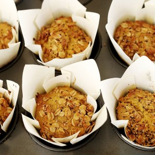 Carrot Cake Muffins perfect for school lunchboxes | Kids Eat by Shanai