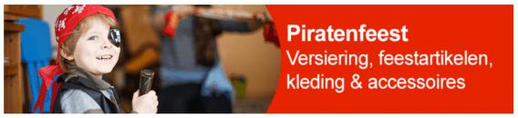 piratenfeest aankleding